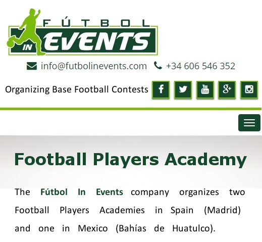 Metodología Entregada Futbol In Events